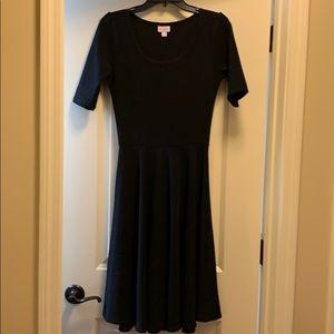 Black LuLaroe, size S dress, NWOT
